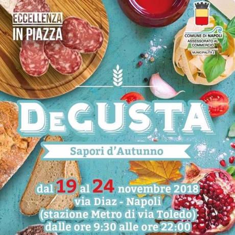 DeGusta - Sapori D'autunno - Napoli - dal 19 al 24 novembre