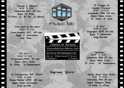Cinema in Terrazza