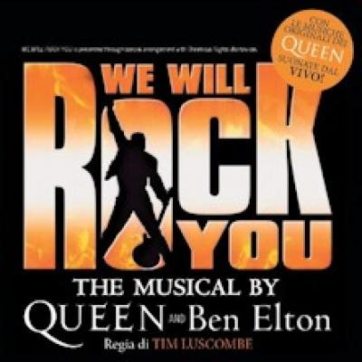 we will rock you - Torino - 5 e 6 aprile