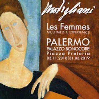 Modigliani Les Femmes, Multimedia Experience - Palermo - fino al 31 marzo