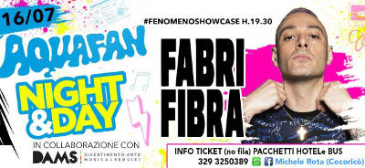 Fabri Fibra at Aquafan - Riccione