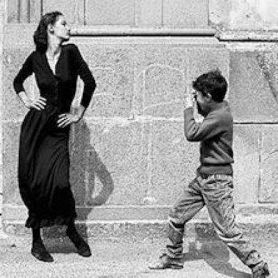 uno scatto fotografico di Ferdinando Scianna