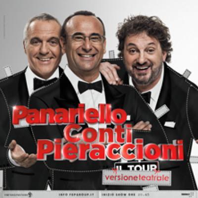 Panariello, Conti, Pieraccioni - Cascina (PI) - 21 e 22 dicembre