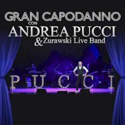 Capodanno 2019 con Andrea Pucci Zurawski Live Band, locandina