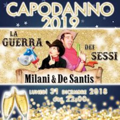Danilo De Santis e Francesca Milani, locandina Capodanno 2019