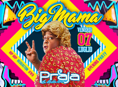 locandina Big Mama gallipoli