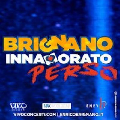 Innamorato perso, Enrico Brignano - locandina