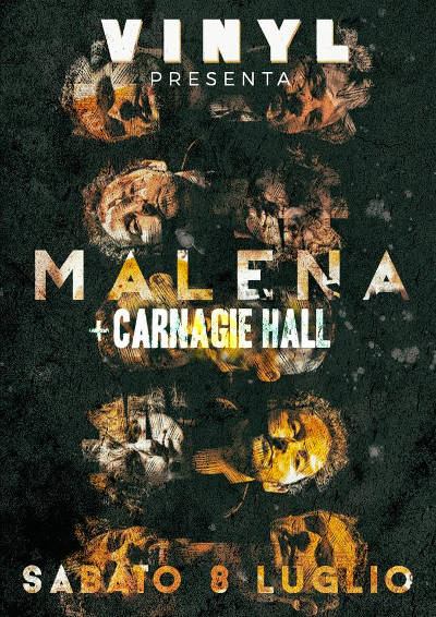 Malena + Carnagie Hall live at Vinyl