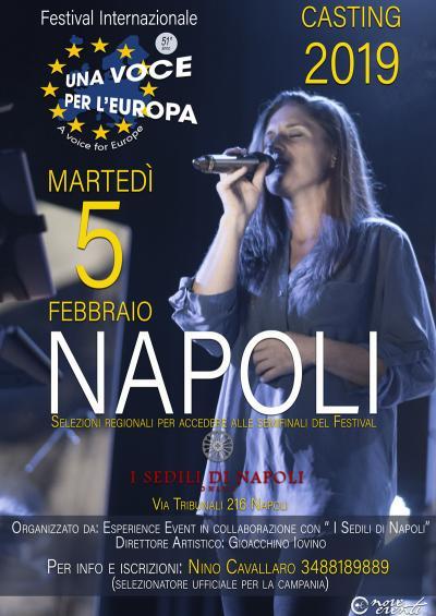 Una Voce per l'Europa 2019 - Napoli - 5 febbraio