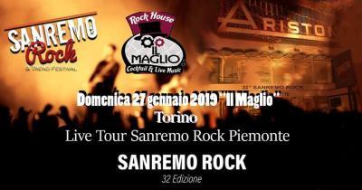 32° Sanremo Rock - Torino - 27 gennaio
