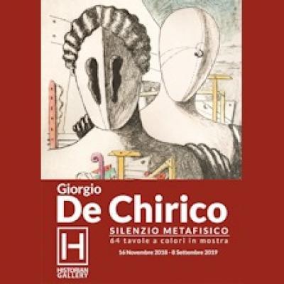 Giorgio De Chirico, Silenzio Metafisico - Gavirate (VA) - fino all' 8 settembre