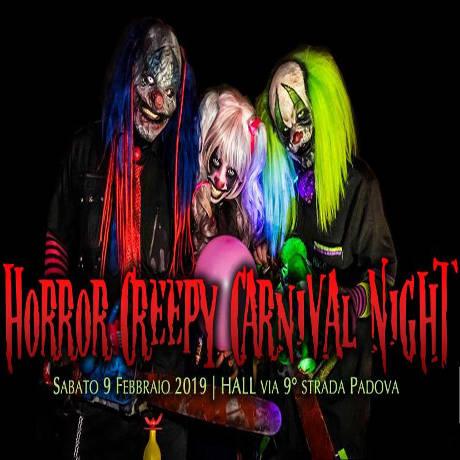Horror Creepy Carnival Night, locandina