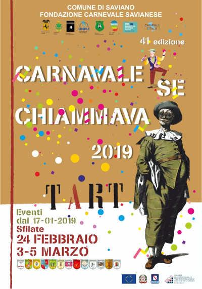 Carnevale di Saviano 2019 - 24 febbraio, 3 e 5 marzo