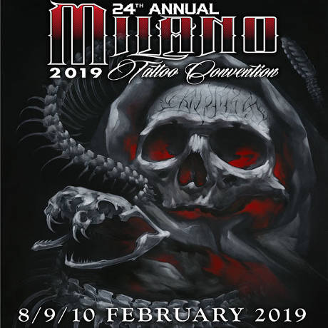 Milano Tatoo 2019, locandina
