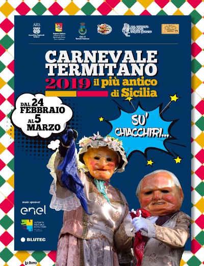 Carnevale Termitano 2019, il più antico di Sicilia: dal 24 febbraio al 5 marzo 2019 a Termini Imerese. © Carnevale Termitano.