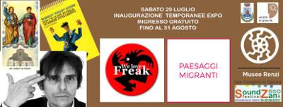 Temporanee Expo su Freak Antoni (Skiantos) & Floating Mountains