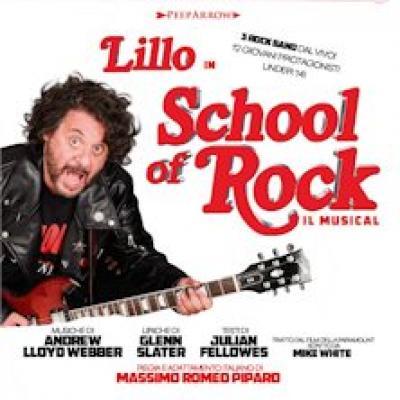 School of Rock con Lillo - locandina