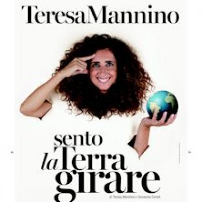 Teresa Mannino in Sento la Terra Girare - Frosinone - 22 marzo