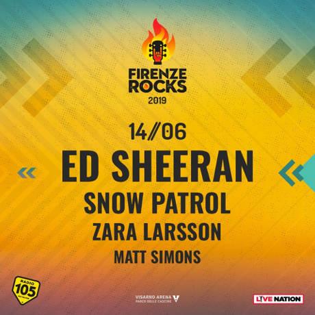Ed Sheeran - Firenze - 14 giugno