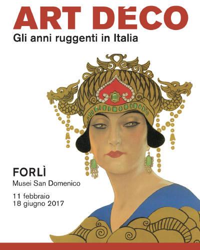 art decò mostra Forlì