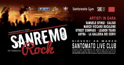 32° Sanremo Rock - Pistoia - 28 marzo