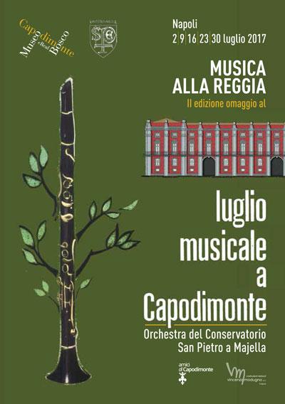 Luglio musicale a Capodimonte @ Real Bosco di Capodimonte, Napoli. I concerti del Conservatorio San Pietro a Majella tutte le domeniche di luglio 2017. © Museo di Capodimonte.