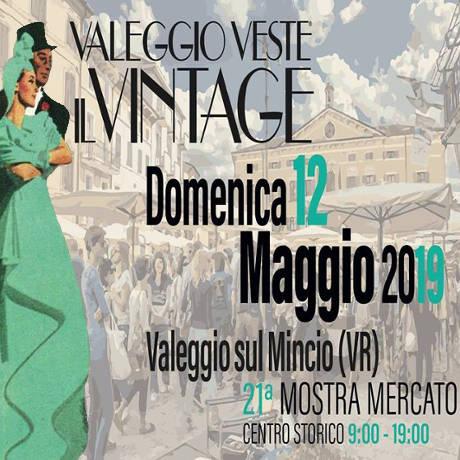 Valeggio veste vintage 2019 - locandina