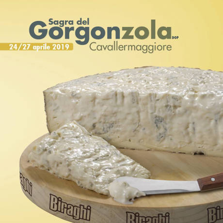 Sagra del gorgonzola DOP - Cavallermaggiore (CN) - dal 24 al 27 aprile