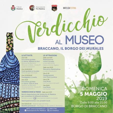 Verdicchio al Museo a Braccano - 05 maggio 2019
