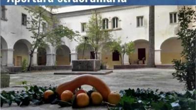 scorcio del chiostro del convento di San Francesco a Roccasecca