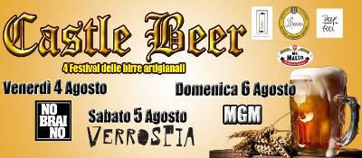 locandina Castle Beer di Pico