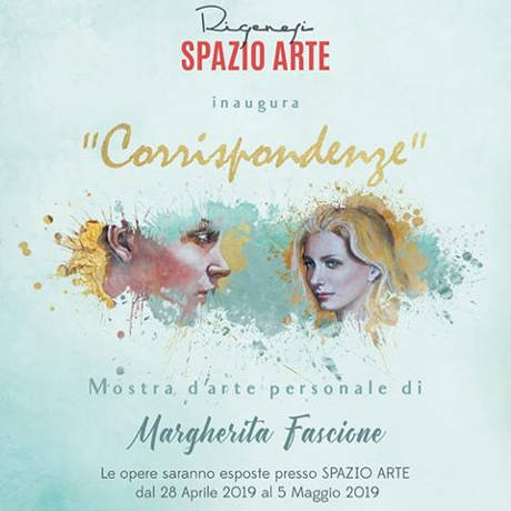 Corrispondenze mostra di Margherita Fascione, locandina