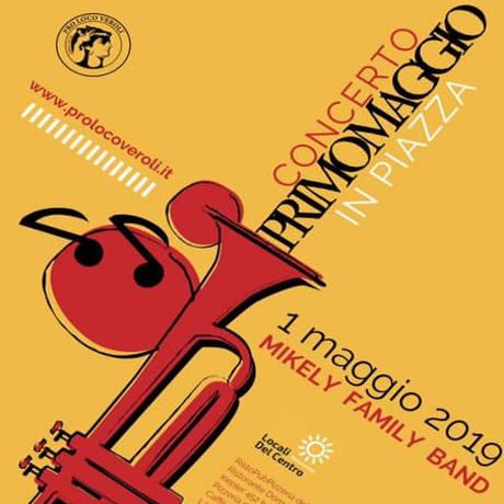 Concerto del primo maggio Veroli 2019