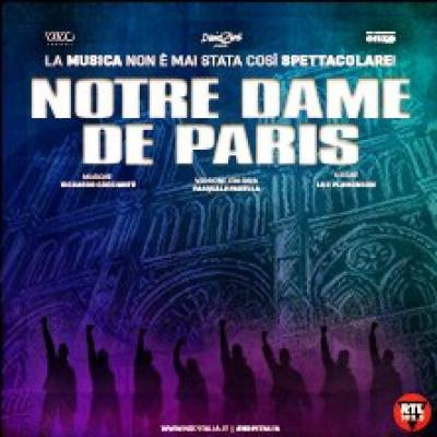 Notre Dame de Paris - Milano - dal 17 ottobre al  3 novembre