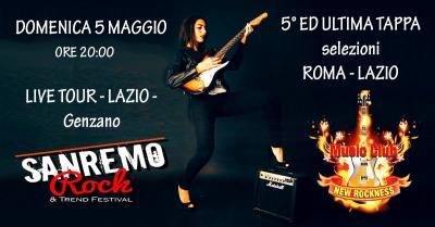 Sanremo rock 2019 lazio tp5