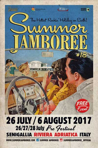 Summer Jamboree #18. A Senigallia dal 26 luglio al 06 agosto 2017. © Summer Jamboree S.r.l.®
