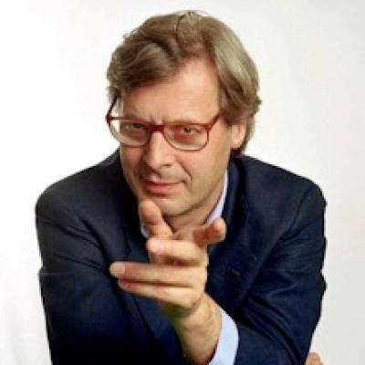 Vittorio Sgarbi in Leonardo - Orbetello - 4 agosto