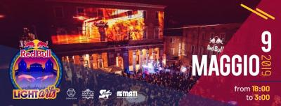 Red Bull LIghtArt Urbino 2019