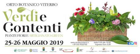 Verdi e Contenti 2019, III edizione, all'Orto Botanico di Viterbo. © Verdi e Contenti 2019.
