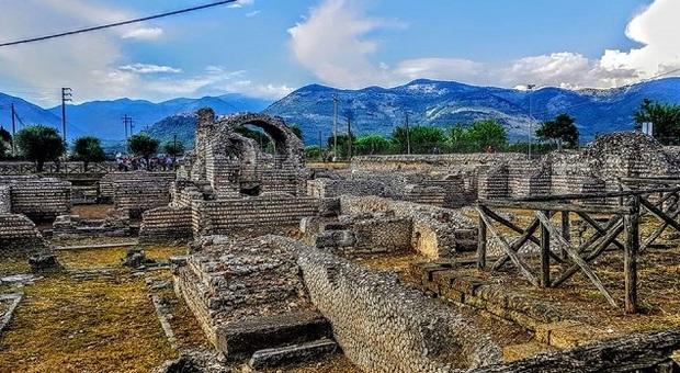 immagine del sito archeologico Privernum