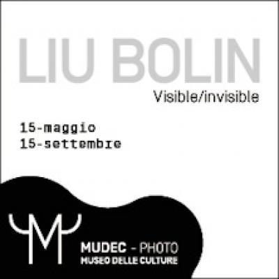 locandina mostra Visibile/invisibile dell'artista Liu Bolin