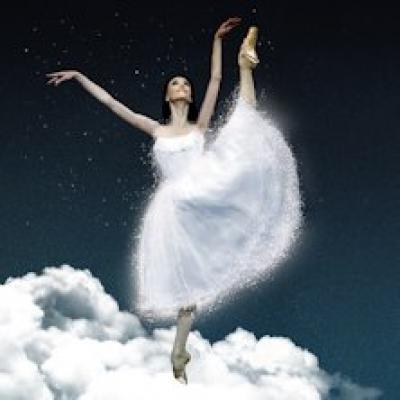 ballerina nei panni di Cenerentola