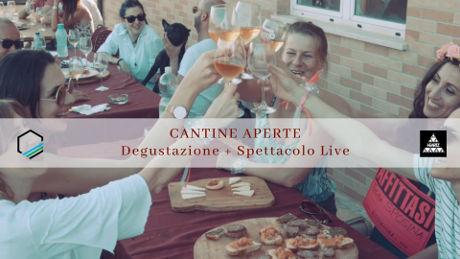 Degustazione enogastronomica con spettacolo live alla Cantina Ortenzi di Fermo, domenica 26 maggio 2019. © Tripendipity.