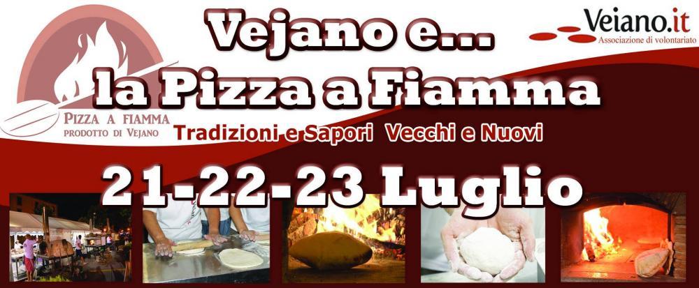 locandina manifestazione pizza a fiamma 2017 a Vejano