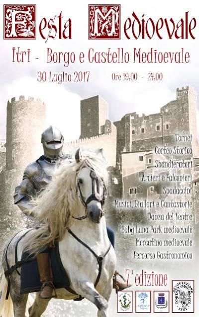 locandina festa medievale Itri