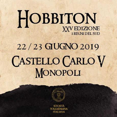 Hobbiton XXV edizione, 22-23 giugno 2019 al Castello Carlo V di Monopoli. © Società Tolkieniana Italiana.