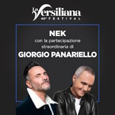 Nek con Giorgio Panariello - Marina di Pietrasanta (LU) - 24 agosto