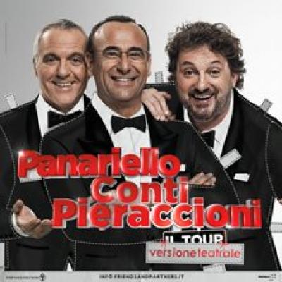 Panariello Conti Pieraccioni - Roma - 2 dicembre