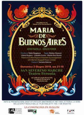 Maria de Buenos Aires, opera-tango di Astor Piazzolla e Horacio Ferrer, regia di Matteo Mazzoni. © Maria de Buenos Aires / Regione Marche - Mibac.