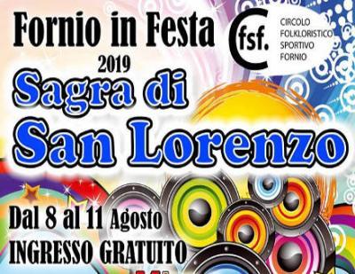 Sagra di San Lorenzo - Fornio (PR) - dall' 8 all'11 agosto